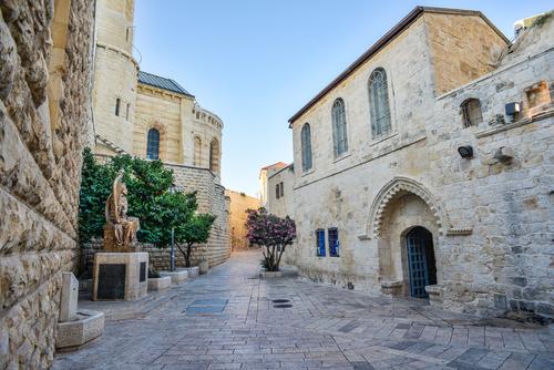 Jerusalem,Street,In,The,Old,City