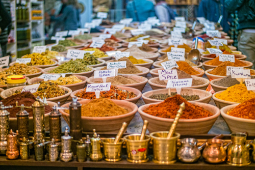 Spices,At,The,Market,In,The,Old,City,Jerusalem,,Israel